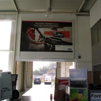 Rdd affichage vous propose des solutions sur mesure pour for Garage ford bretigny sur orge