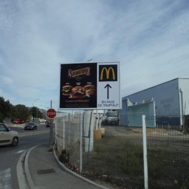 Affiche 4x3 sur Aubagne